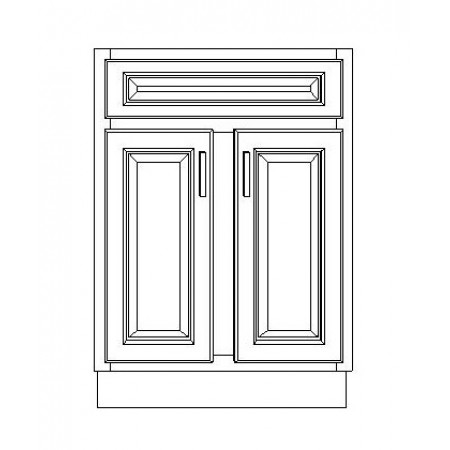 "VSB24D/GRY(24"" Cabinet)"