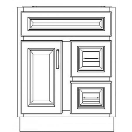 "VSD24DR/DWS(24"" Cabinet)"
