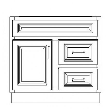 """VSD30DR/LWS(30"""" Cabinet)"""