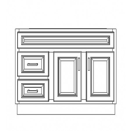 "VSD42DL/WHS(42"" Cabinet)"