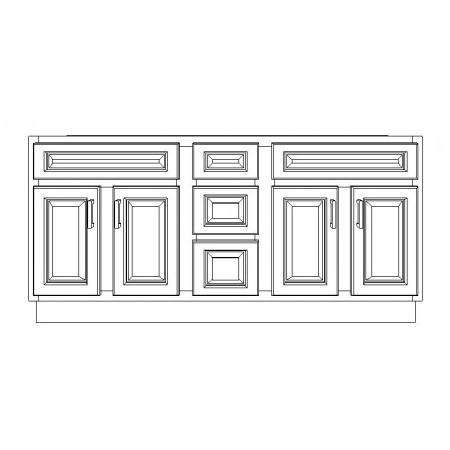 "VSD60DD/WHS(60"" Cabinet)"