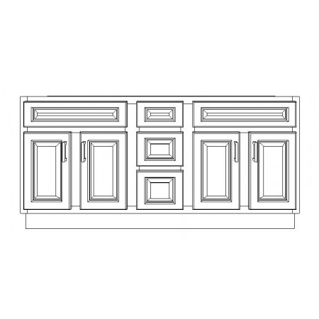 "VSD60DD/LWS(60"" Cabinet)"