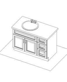 "VSD42DR/IWC(42"" Cabinet)"