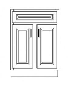 """VSB24D/IWC(24"""" Cabinet)"""