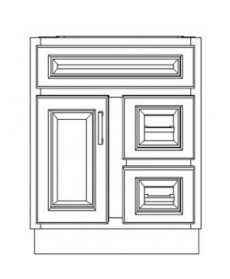 "VSD24DR/IWC(24"" Cabinet)"