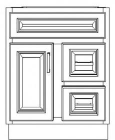 "VSD24(R)/DWS(24"" Cabinet)"