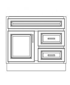 "VSD36DR/IWC(36"" Cabinet)"