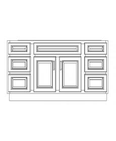 "VSD72D/WHS(72"" Bundle)-4 Drawers"