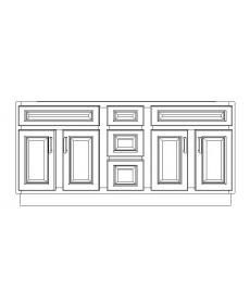 "VSD60DD/DWC(60"" Cabinet)"