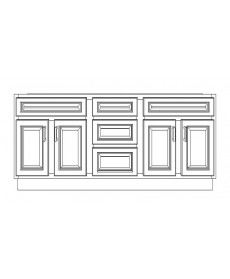 "VSD72DD/LWS(72"" Cabinet)"
