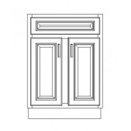 "VSB24D/WHS(24"" Cabinet)"