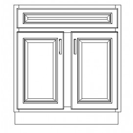 "VSB30D/WHS(30"" Cabinet)"