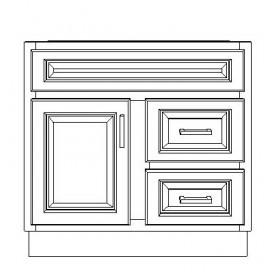 "VSD30DR/DWS(30"" Cabinet)"