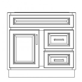 "VSD30DL/DWS(30"" Cabinet)"