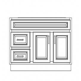 "VSD42DR/DWS(42"" Cabinet)"