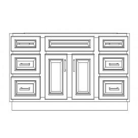 """VSD54/IWC(54"""" Bundle)-6 Drawers"""