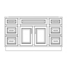 """VSD60D/DWC(60"""" Bundle)-6 Drawers"""